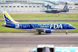 SFJ_capさんが、名古屋飛行場で撮影したフジドリームエアラインズ ERJ-170-200 (ERJ-175STD)の航空フォト(飛行機 写真・画像)