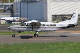 Hiro-hiroさんが、調布飛行場で撮影した朝日航空 208B Grand Caravanの航空フォト(飛行機 写真・画像)