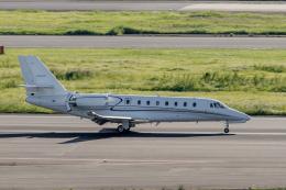 Y-Kenzoさんが、羽田空港で撮影したノエビア 680 Citation Sovereignの航空フォト(飛行機 写真・画像)