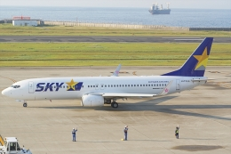 HEATHROWさんが、神戸空港で撮影したスカイマーク 737-8ALの航空フォト(飛行機 写真・画像)