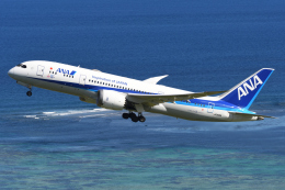 sky77さんが、石垣空港で撮影した全日空 787-8 Dreamlinerの航空フォト(飛行機 写真・画像)