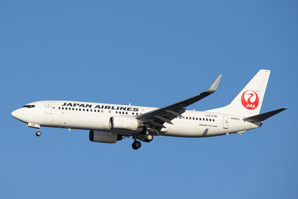 SGR RT 改さんの日本航空 Boeing 737-800 (JA306J) 航空フォト