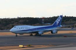 もぐ3さんが、成田国際空港で撮影した全日空 747-481の航空フォト(飛行機 写真・画像)