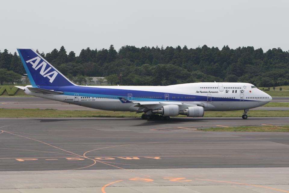 もぐ3さんの全日空 Boeing 747-400 (JA8096) 航空フォト
