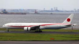 誘喜さんが、羽田空港で撮影した航空自衛隊 777-3SB/ERの航空フォト(飛行機 写真・画像)