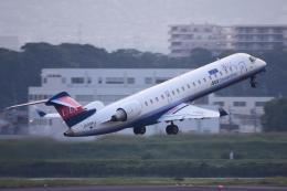 TOPAZ102さんが、伊丹空港で撮影したアイベックスエアラインズ CL-600-2C10(CRJ-702)の航空フォト(飛行機 写真・画像)