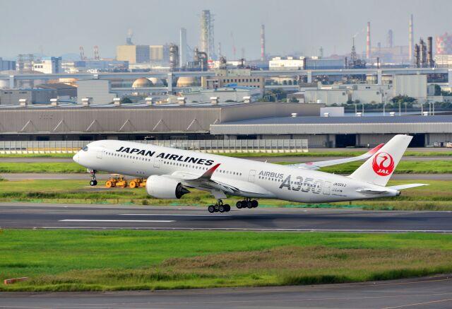 kotaちゃんさんが、羽田空港で撮影した日本航空 A350-941の航空フォト(飛行機 写真・画像)