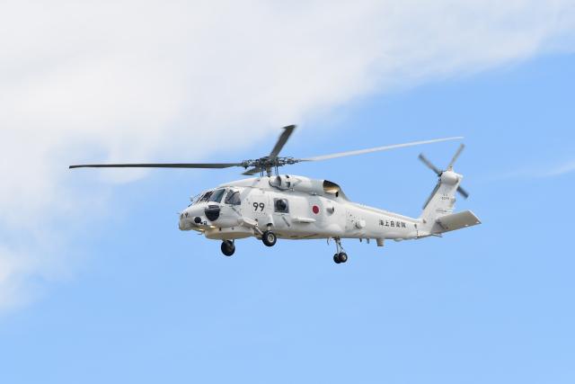 じょ~まんさんが、名古屋飛行場で撮影した海上自衛隊 UH-60Jの航空フォト(飛行機 写真・画像)