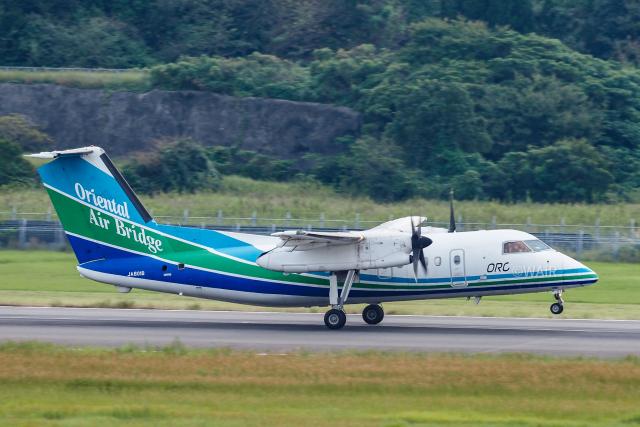 WAiRさんが、長崎空港で撮影したオリエンタルエアブリッジ DHC-8-201Q Dash 8の航空フォト(飛行機 写真・画像)