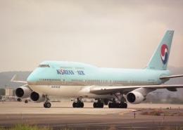 元青森人さんが、仙台空港で撮影した大韓航空 747-4B5の航空フォト(飛行機 写真・画像)