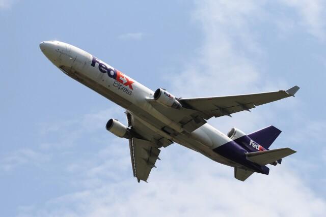 フッ軽の極美さんが、成田国際空港で撮影したフェデックス・エクスプレス MD-11Fの航空フォト(飛行機 写真・画像)