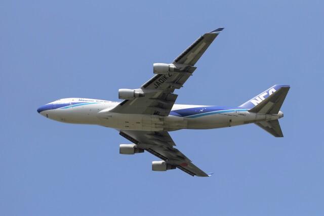 フッ軽の極美さんが、成田国際空港で撮影した日本貨物航空 747-481F/SCDの航空フォト(飛行機 写真・画像)