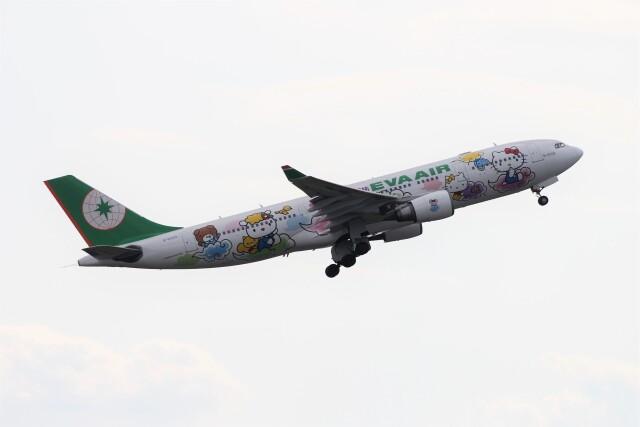 フッ軽の極美さんが、成田国際空港で撮影したエバー航空 A330-203の航空フォト(飛行機 写真・画像)