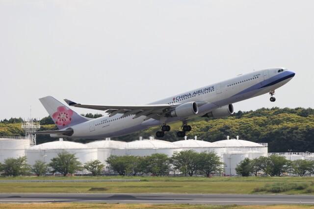 フッ軽の極美さんが、成田国際空港で撮影したチャイナエアライン A330-302の航空フォト(飛行機 写真・画像)