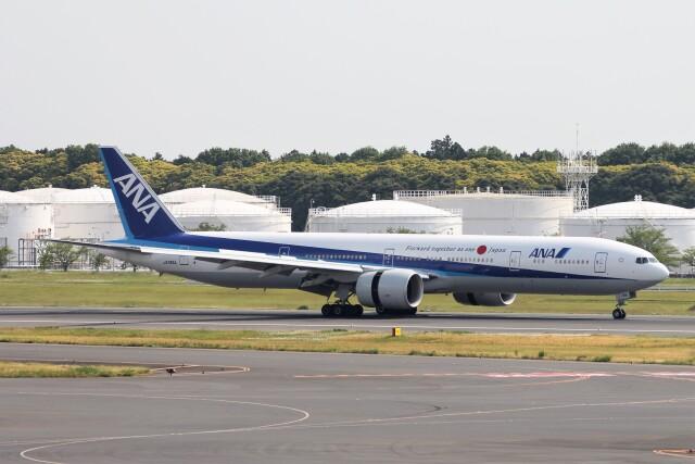 フッ軽の極美さんが、成田国際空港で撮影した全日空 777-381/ERの航空フォト(飛行機 写真・画像)