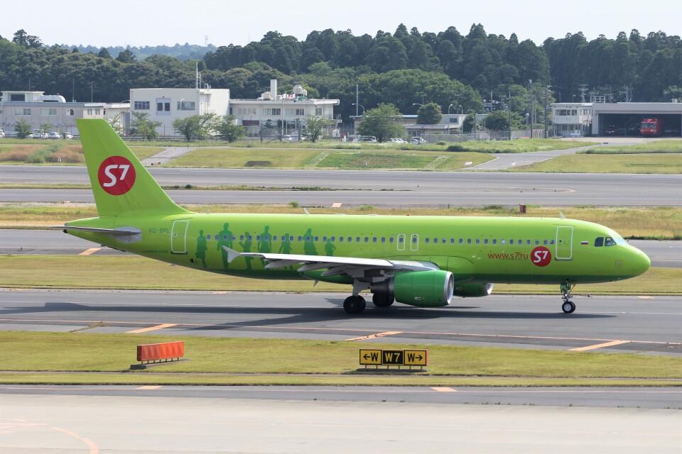 フッ軽の極美さんのS7航空 Airbus A320 (VQ-BPL) 航空フォト