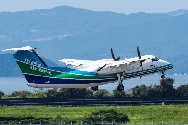 WAiRさんが、長崎空港で撮影したオリエンタルエアブリッジ DHC-8-202Q Dash 8の航空フォト(飛行機 写真・画像)