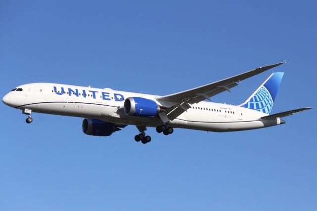 Love NRTさんが、成田国際空港で撮影したユナイテッド航空 787-9の航空フォト(飛行機 写真・画像)