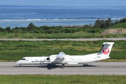 安芸あすかさんが、石垣空港で撮影した琉球エアーコミューター DHC-8-402Q Dash 8 Combiの航空フォト(飛行機 写真・画像)