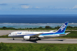 安芸あすかさんが、石垣空港で撮影した全日空 787-8 Dreamlinerの航空フォト(飛行機 写真・画像)