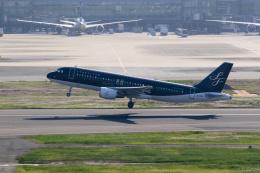 inyoさんが、羽田空港で撮影したスターフライヤー A320-214の航空フォト(飛行機 写真・画像)