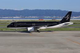 sumihan_2010さんが、関西国際空港で撮影したスターフライヤー A320-214の航空フォト(飛行機 写真・画像)
