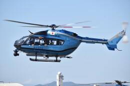 とびたさんが、名古屋飛行場で撮影した愛知県警察 BK117C-2の航空フォト(飛行機 写真・画像)