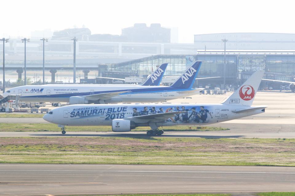 inyoさんの日本航空 Boeing 777-200 (JA8979) 航空フォト