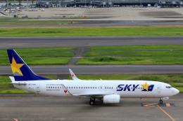inyoさんが、羽田空港で撮影したスカイマーク 737-81Dの航空フォト(飛行機 写真・画像)