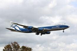 やまモンさんが、成田国際空港で撮影したエアブリッジ・カーゴ・エアラインズ 747-83QFの航空フォト(飛行機 写真・画像)