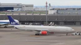 誘喜さんが、羽田空港で撮影したスカンジナビア航空 A330-343Xの航空フォト(飛行機 写真・画像)