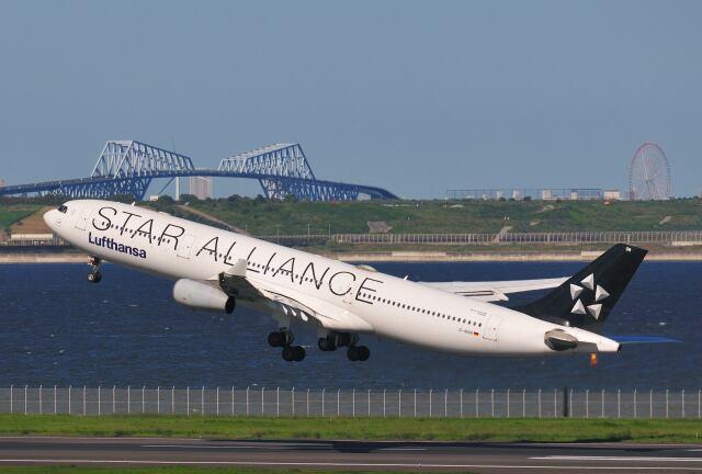 航空フォト:D-AIGN ルフトハンザドイツ航空 A340-300
