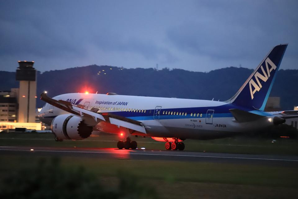 rokko2000さんの全日空 Boeing 787-8 Dreamliner (JA840A) 航空フォト