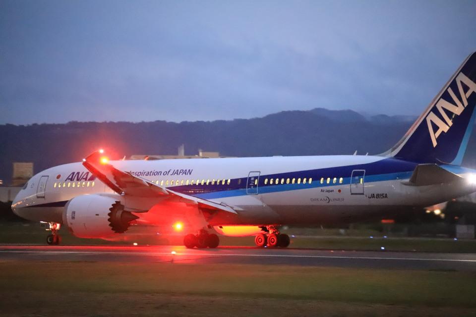 rokko2000さんの全日空 Boeing 787-8 Dreamliner (JA815A) 航空フォト
