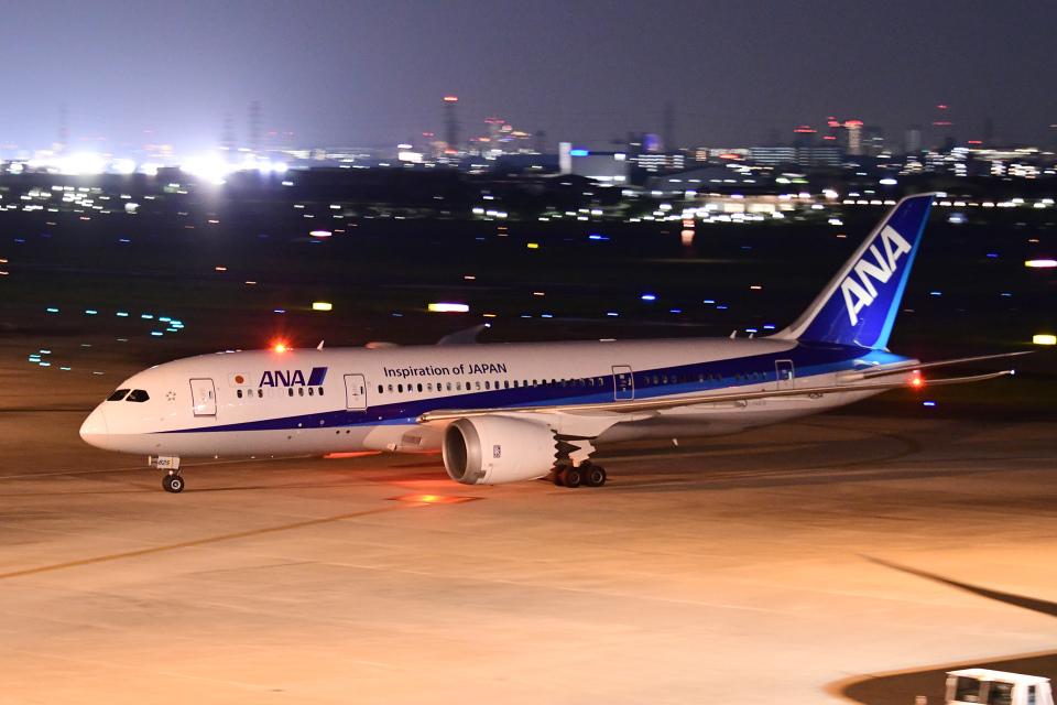 TOPAZ102さんの全日空 Boeing 787-8 Dreamliner (JA825A) 航空フォト