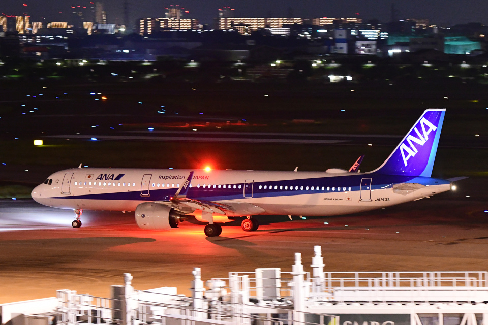 TOPAZ102さんの全日空 Airbus A321neo (JA143A) 航空フォト