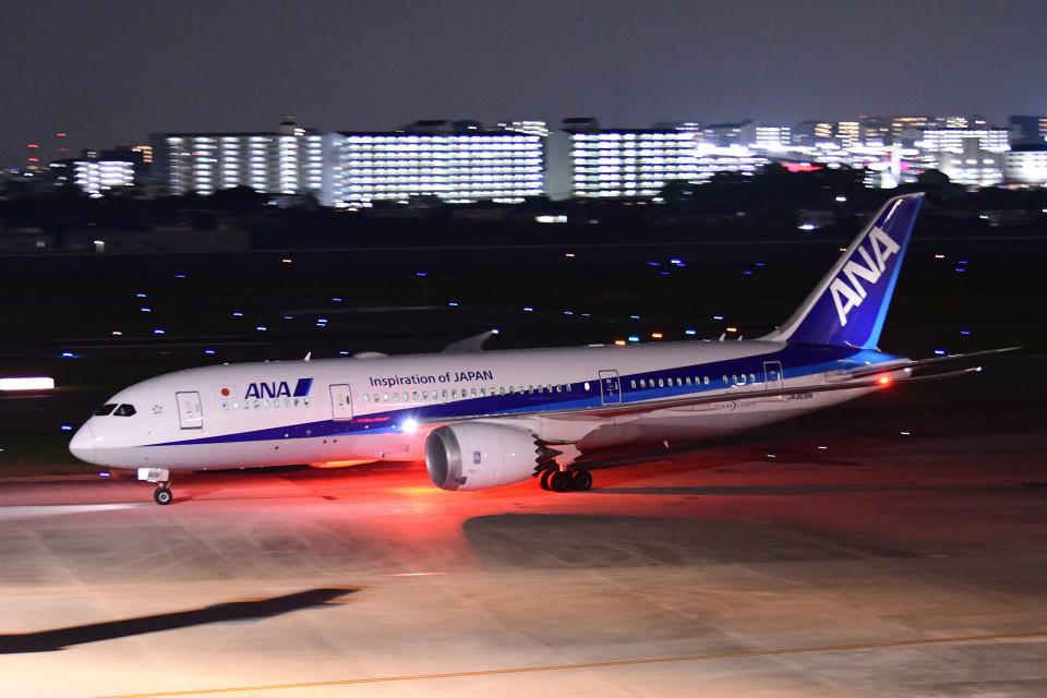 TOPAZ102さんの全日空 Boeing 787-8 Dreamliner (JA808A) 航空フォト