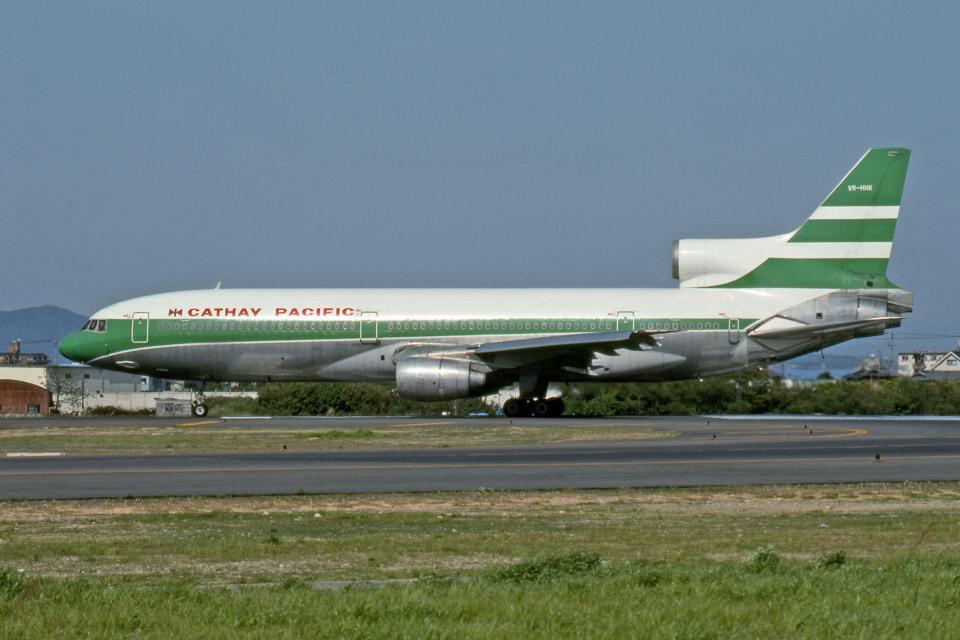 Gambardierさんのキャセイパシフィック航空 Lockheed L-1011 TriStar (VR-HHK) 航空フォト