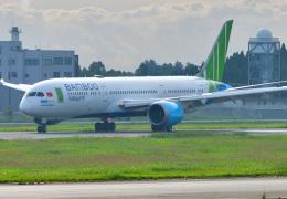 saoya_saodakeさんが、成田国際空港で撮影したバンブー・エアウェイズ 787-9の航空フォト(飛行機 写真・画像)