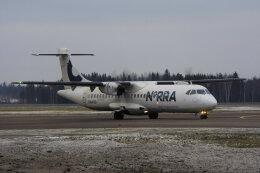 狛犬さんが、ビリニュス国際空港で撮影したノルディック・リージョナル・エアラインズ ATR 72-500 (72-212A)の航空フォト(飛行機 写真・画像)