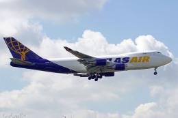 ちゃぽんさんが、成田国際空港で撮影したアトラス航空 747-46NFの航空フォト(飛行機 写真・画像)