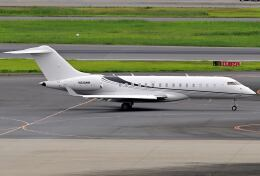 シグナス021さんが、羽田空港で撮影したウィルミントン・トラスト・カンパニー BD-700-1A10 Global Expressの航空フォト(飛行機 写真・画像)
