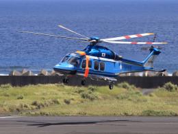 CL&CLさんが、奄美空港で撮影した大阪府警察 AW139の航空フォト(飛行機 写真・画像)