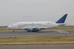 天王寺王子さんが、中部国際空港で撮影したボーイング 747-409(LCF) Dreamlifterの航空フォト(飛行機 写真・画像)