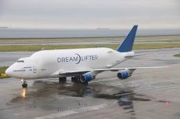 天王寺王子さんが、中部国際空港で撮影したボーイング 747-4J6(LCF) Dreamlifterの航空フォト(飛行機 写真・画像)
