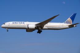 Tatsuya.Kさんが、成田国際空港で撮影したユナイテッド航空 787-9の航空フォト(飛行機 写真・画像)