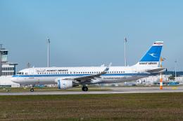 gomaさんが、ミュンヘン・フランツヨーゼフシュトラウス空港で撮影したクウェート航空 A320-214の航空フォト(飛行機 写真・画像)