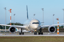 gomaさんが、ミュンヘン・フランツヨーゼフシュトラウス空港で撮影したエティハド航空 787-10の航空フォト(飛行機 写真・画像)