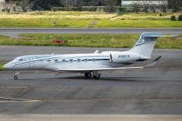 K.Sさんが、成田国際空港で撮影したPrivate G650ER (G-VI)の航空フォト(飛行機 写真・画像)