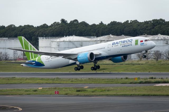 K.Sさんが、成田国際空港で撮影したバンブー・エアウェイズ 787-9の航空フォト(飛行機 写真・画像)